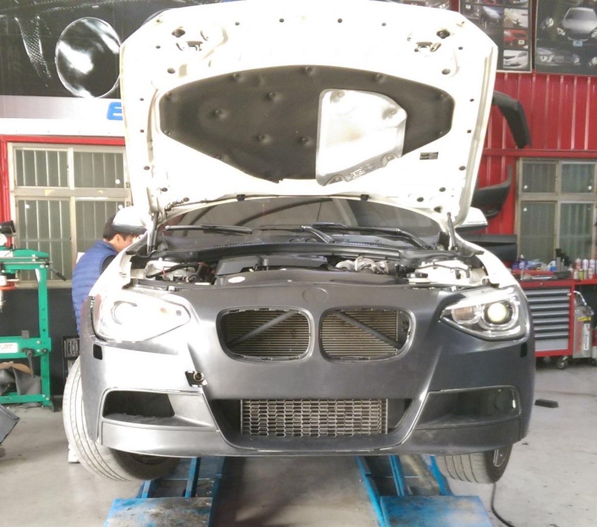 Zderzak przedni BMW F20 F21 11- M-TEK Style - GRUBYGARAGE - Sklep Tuningowy